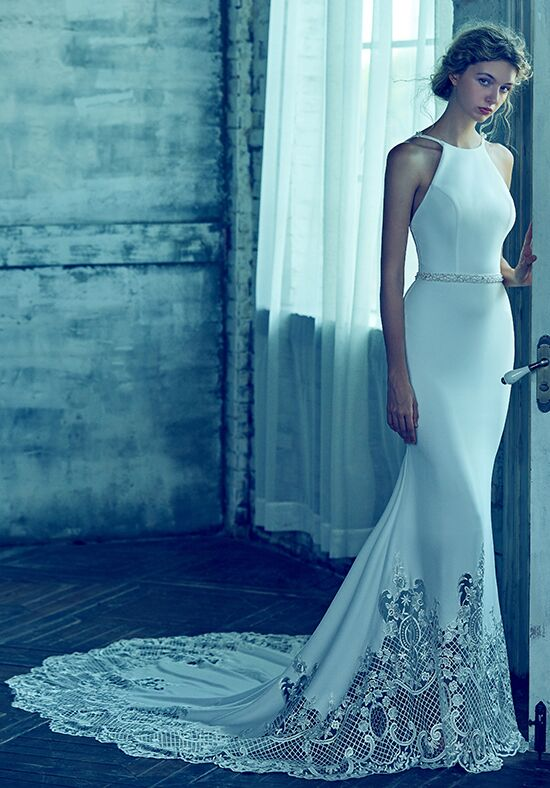 Calla Blanche LA8121 Aria Sheath Wedding Dress