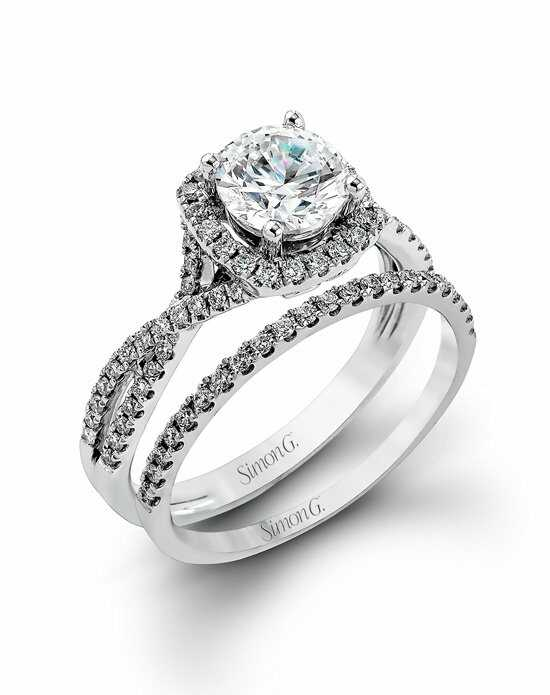 Simon G. Jewelry NR468 Engagement Ring photo