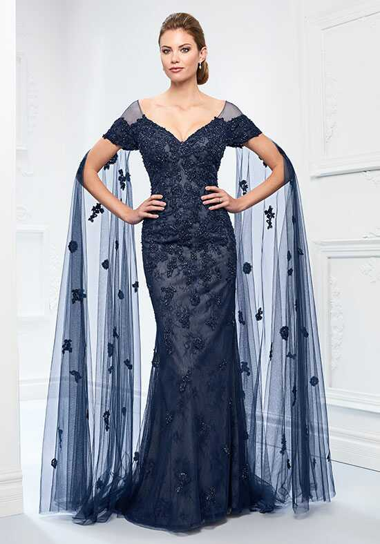 Ivonne D. 218D25 Blue Mother Of The Bride Dress