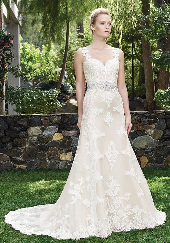 Casablanca Bridal 2250 Holly A-Line Wedding Dress