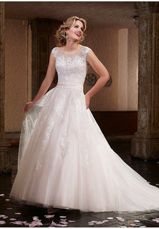 1 wedding by mary 39 s bridal 6377 wedding dress the knot for How do you preserve a wedding dress