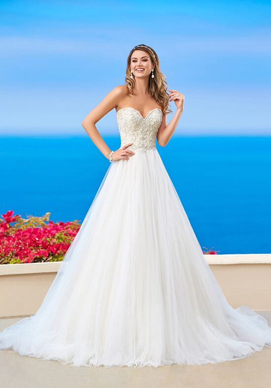 KITTYCHEN Couture ZOEY, H1658 Ball Gown Wedding Dress