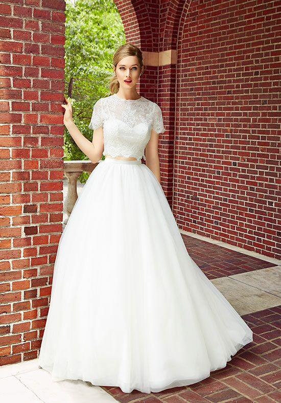 Simply Val Stefani S2017 Top S2022 Skirt A Line Wedding Dress