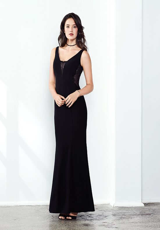 Colour by Kenneth Winston 5272L V-Neck Bridesmaid Dress