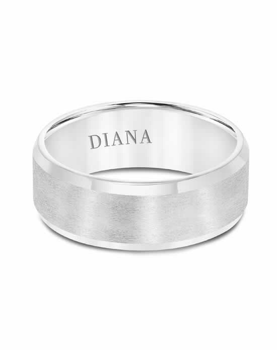 Diana 11-N7624W Gold Wedding Ring