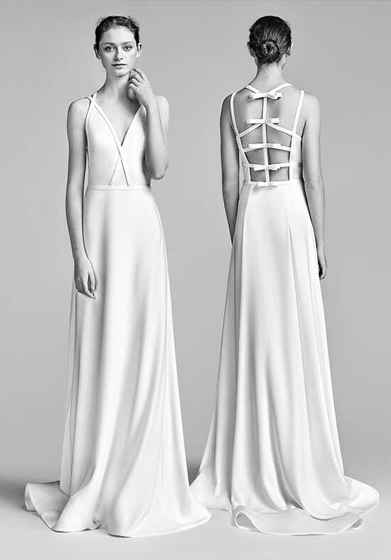 Viktor&Rolf Mariage Bow Back Column Gown A-Line Wedding Dress