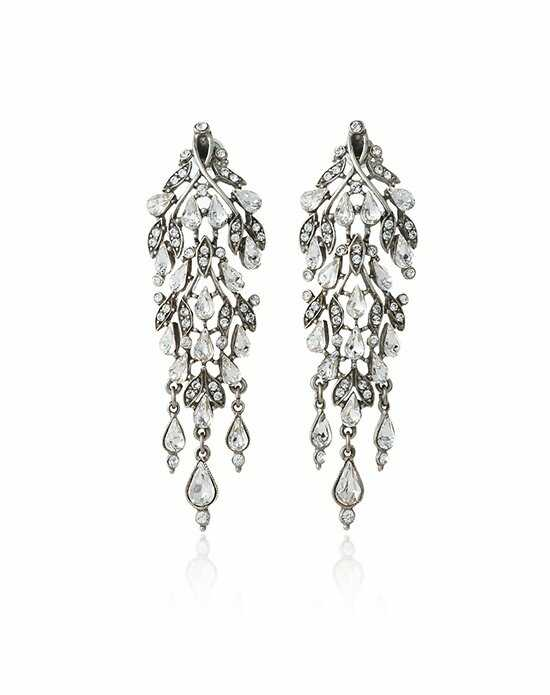 Thomas Laine Ben-Amun Waterfall Chandelier Earring Wedding Earring photo