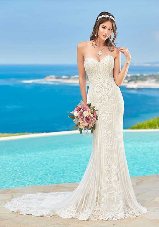 KITTYCHEN Couture ALVINA, H1639 Sheath Wedding Dress