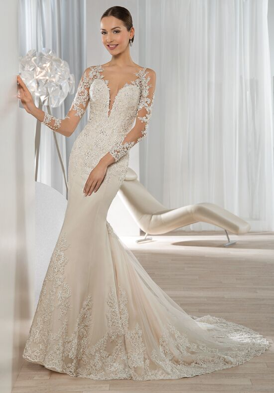 Demetrios 639 Mermaid Wedding Dress