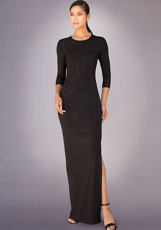 Grayse Wedding Party W1411014-Black Black Mother Of The Bride Dress
