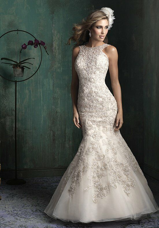 Allure Couture C344 Mermaid Wedding Dress