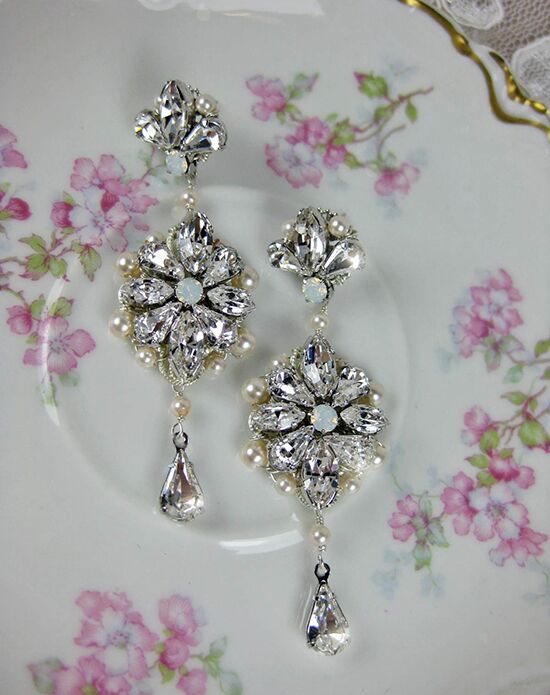Everything Angelic Julia Earrings - e347 Wedding Earring photo
