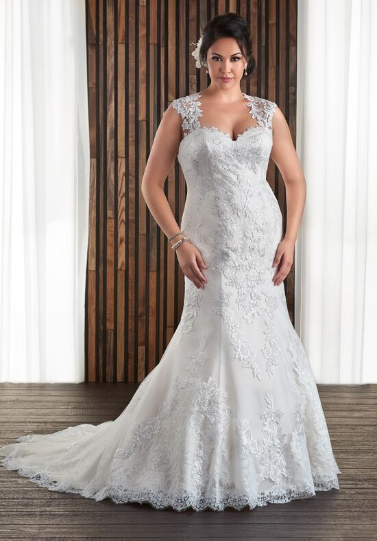 Unforgettable by Bonny Bridal 1712 Mermaid Wedding Dress