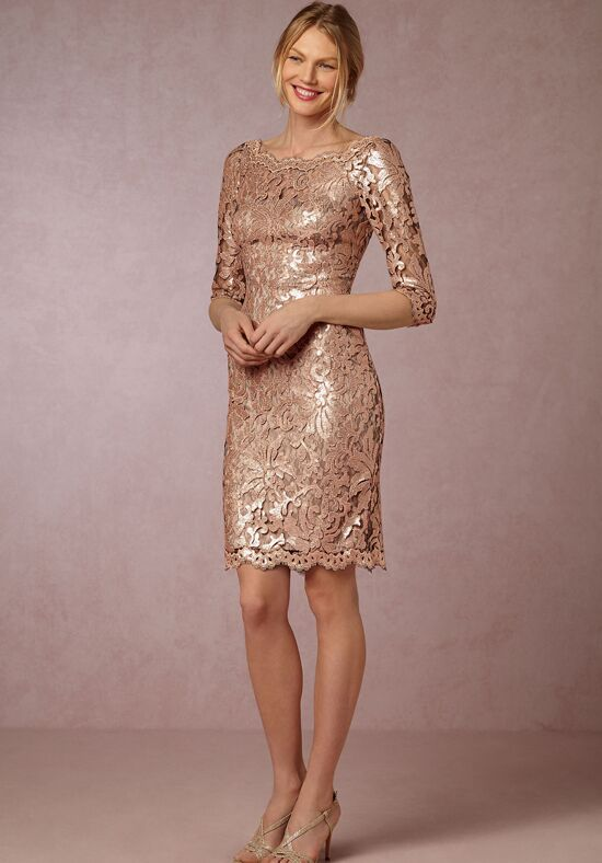 BHLDN (Mother of the Bride) Joan Dress Gold Mother Of The Bride Dress