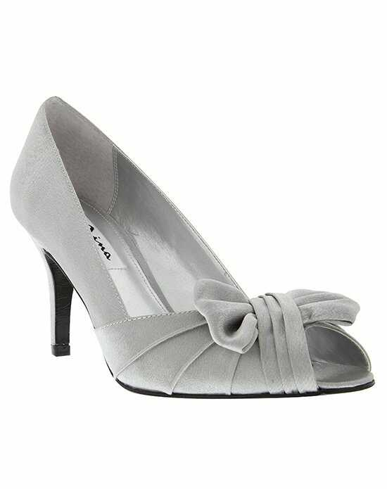Nina Bridal Wedding Accessories FORBES_ROYAL SILVER Silver Shoe