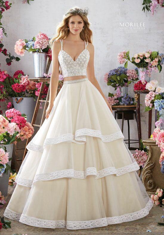 Sweetheart Neckline Lace Wedding Dresses