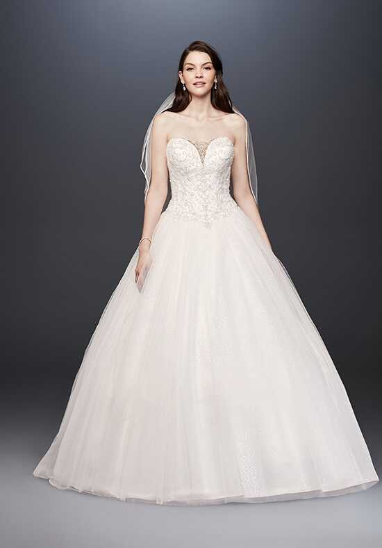 David's Bridal David's Bridal Collection Style V3849 A-Line Wedding Dress