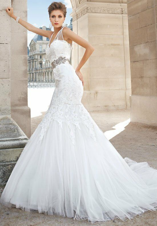 Jasmine couture t152003 wedding dress the knot for Jasmine couture wedding dresses
