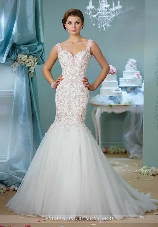 Enchanting by Mon Cheri 216153 Mermaid Wedding Dress