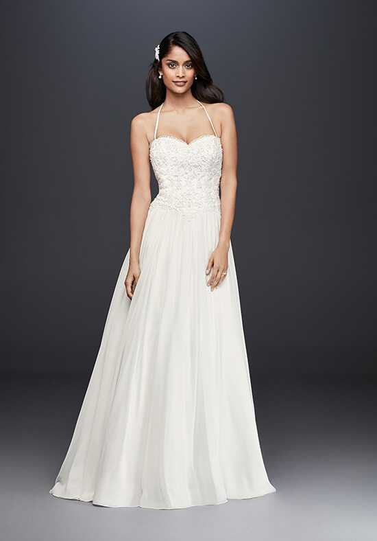 David's Bridal David's Bridal Collection Style WG3853 A-Line Wedding Dress