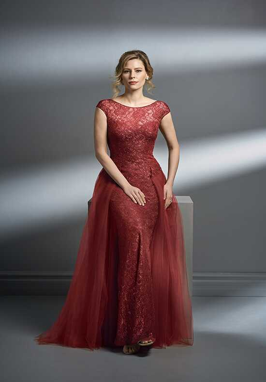 Jade Couture K198058 Red Mother Of The Bride Dress