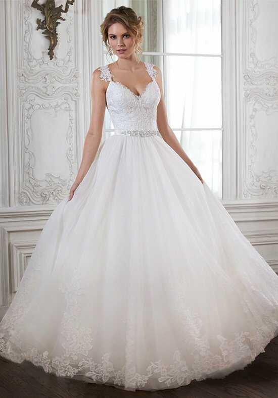 Maggie Sottero Crystal Ball Gown Wedding Dress