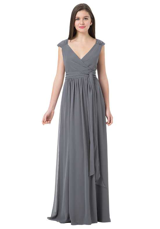 Bill Levkoff 1217 V-Neck Bridesmaid Dress