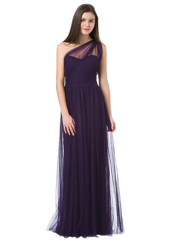 Bill Levkoff 1228 Illusion Bridesmaid Dress