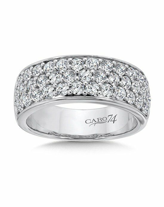Caro 74 CRA454BW White Gold Wedding Ring