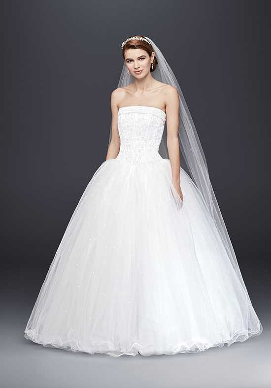 David's Bridal David's Bridal Collection Style NT8017 Ball Gown Wedding Dress