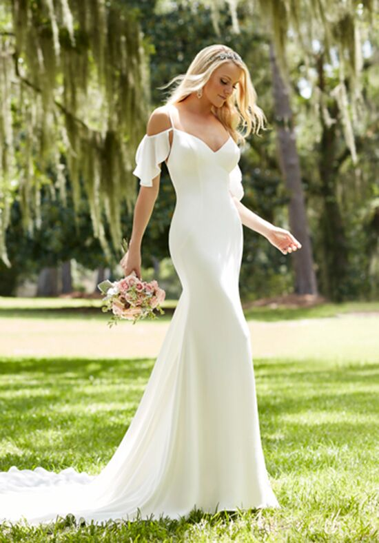 Martina Liana 755 Sheath Wedding Dress