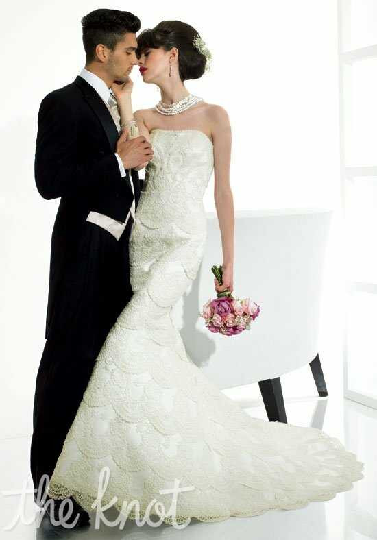 Moonlight Couture H1112 Wedding Dress photo