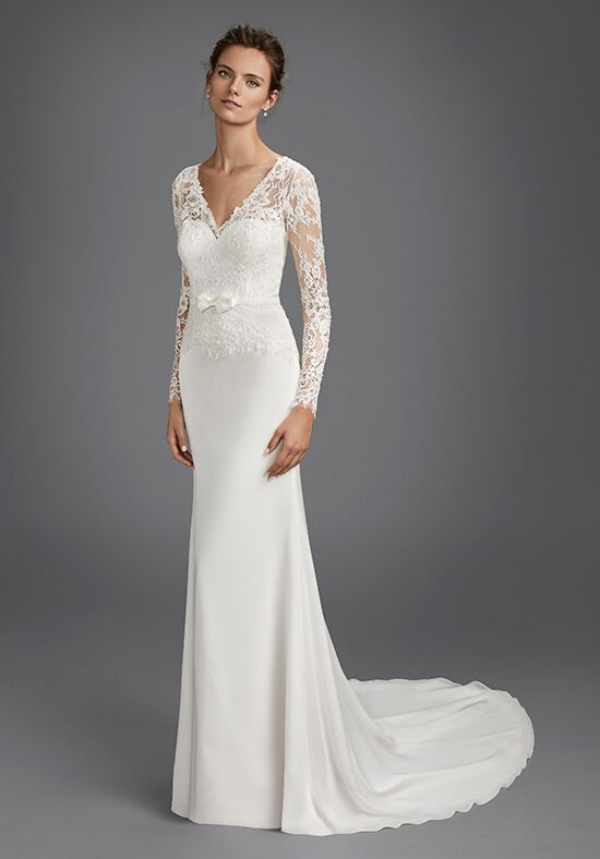 Luna Novias HALCON Mermaid Wedding Dress