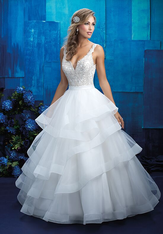 Allure Bridals 9418 Ball Gown Wedding Dress