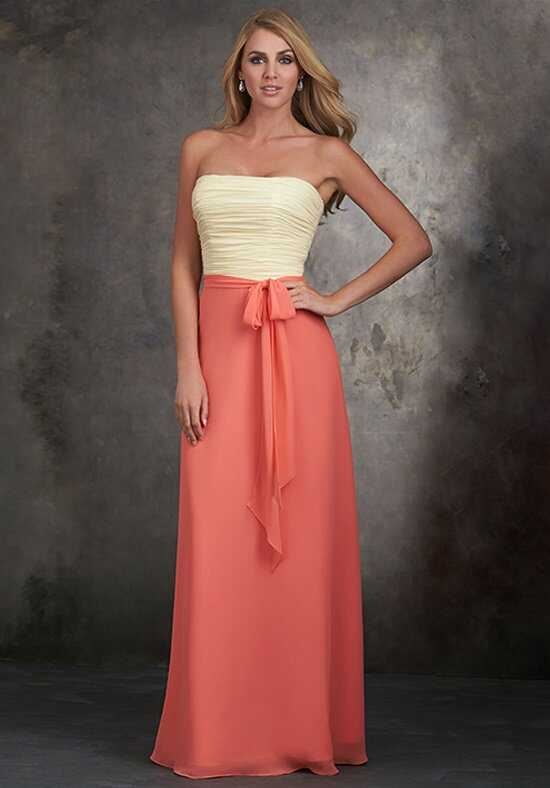 Allure Bridesmaids 1403 Strapless Bridesmaid Dress