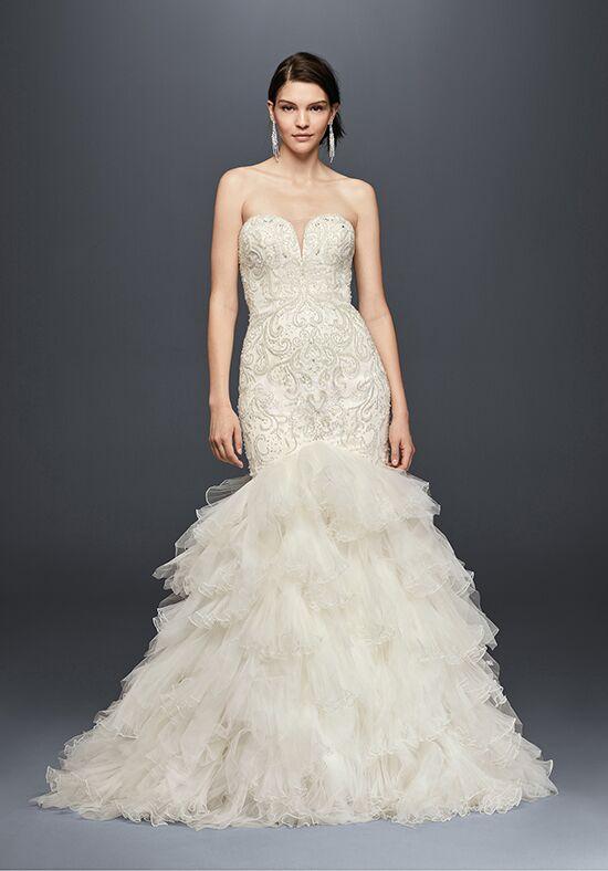 Davids Bridal Galina Signature Style SWG760 Mermaid Wedding Dress