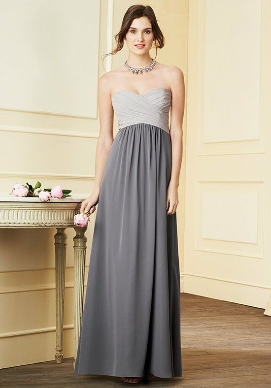 Alfred Angelo Signature Bridesmaids Collection 7289L Strapless Bridesmaid Dress