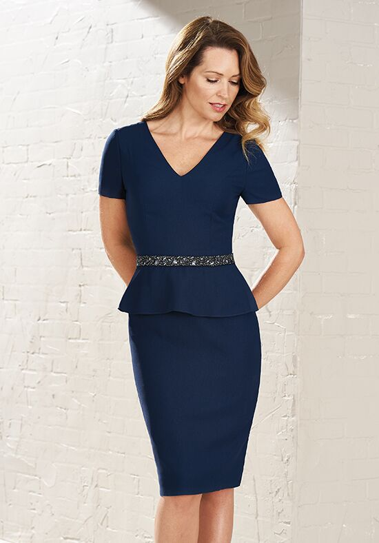 Jasmine Black Label M200004 Blue Mother Of The Bride Dress