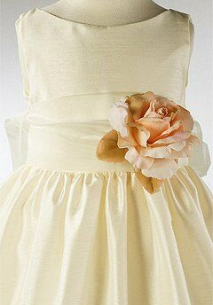 Kids Formal 204 Ivory Flower Girl Dress