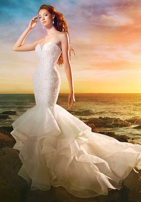 Alfred Angelo Disney Fairy Tale Weddings Bridal Collection 264 Mermaid Wedding Dress