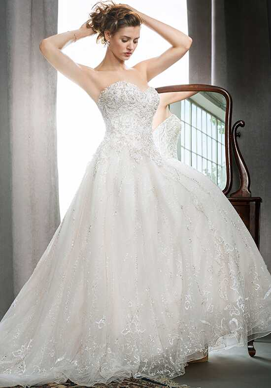 Kenneth Winston 1725 Ball Gown Wedding Dress