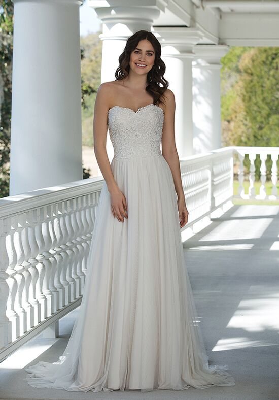Sincerity Bridal 3947 A-Line Wedding Dress