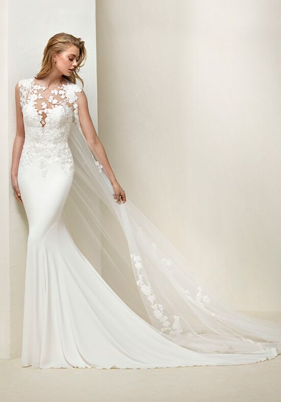 PRONOVIAS DRAIL Mermaid Wedding Dress