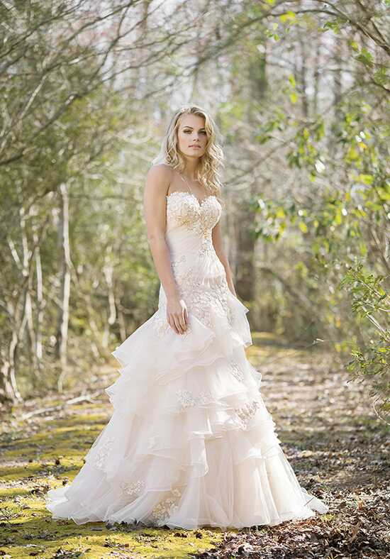Lillian West 6473 A-Line Wedding Dress