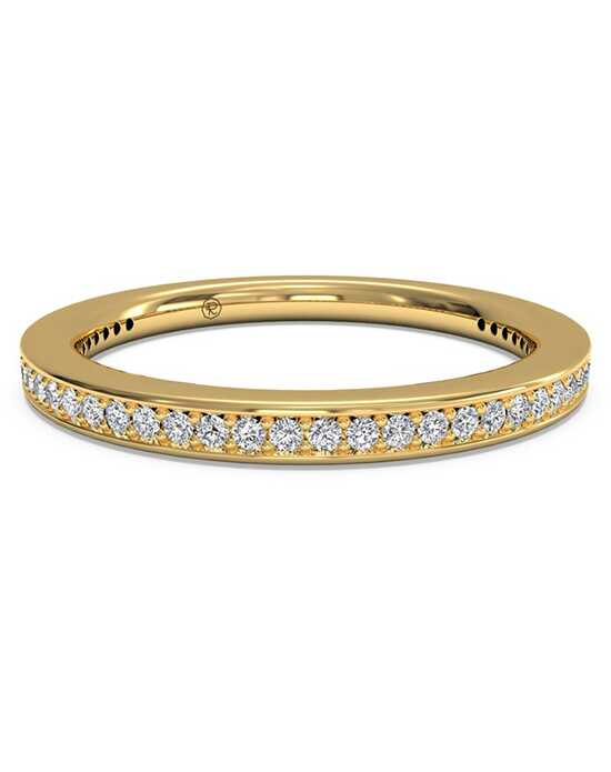 Ritani Women's Micropave Diamond Eternity Wedding Ring - in 18kt Yellow Gold - (0.24 CTW) Gold Wedding Ring