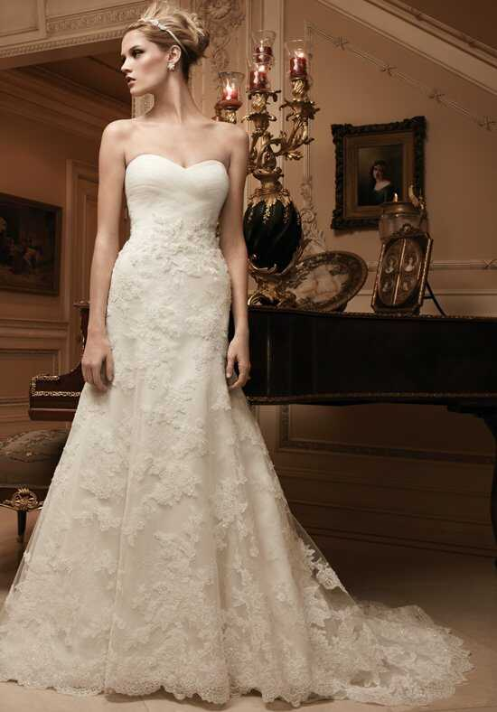 Casablanca Bridal 2125 Mermaid Wedding Dress