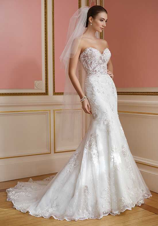 David Tutera for Mon Cheri 217209 Vada Mermaid Wedding Dress