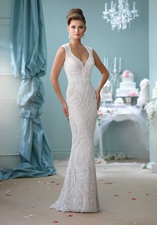Enchanting by Mon Cheri 116123 Sheath Wedding Dress