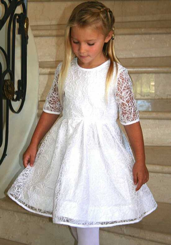 Isabel Garretón Beautiful - Girl White Flower Girl Dress