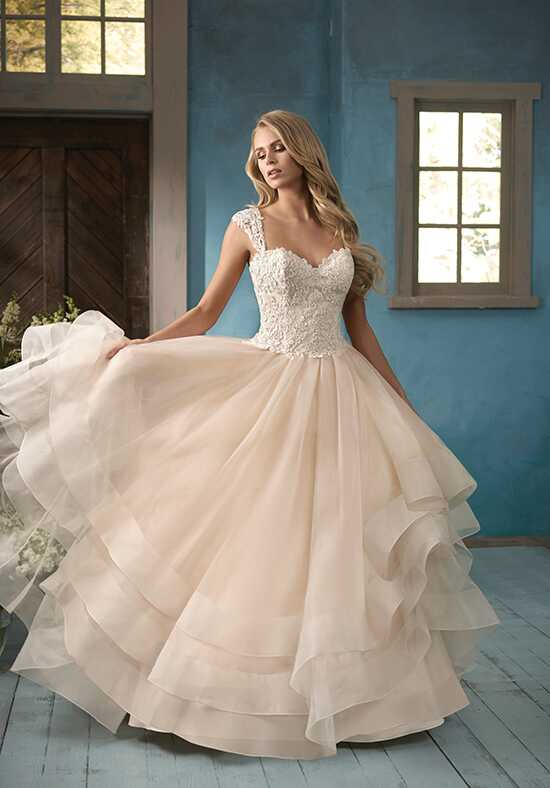 Jasmine Collection F191063 Ball Gown Wedding Dress